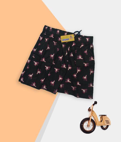 Kid's Shorts - Black