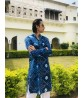 Mens Kurta Ethnic Bandej Blue