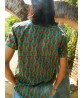 Rose Rhapsody Shirt - Men's Half Sleeve - Green